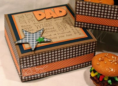 Burger Box for Dad