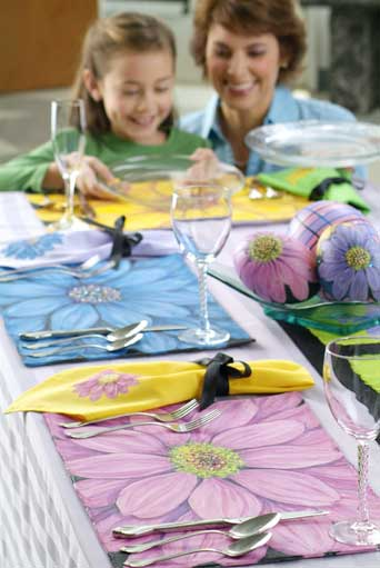 Dandy Daisy Easter Table Setting