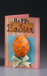 Bright and Happy Easter Card