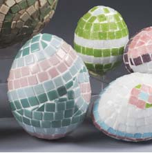 China Tile Mosaic Egg