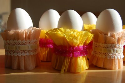 Easter Egg Cups Close