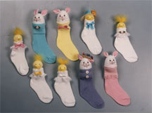 Easter Stocking Chicks and Bunnies