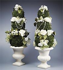 Elegant Garden Topiary