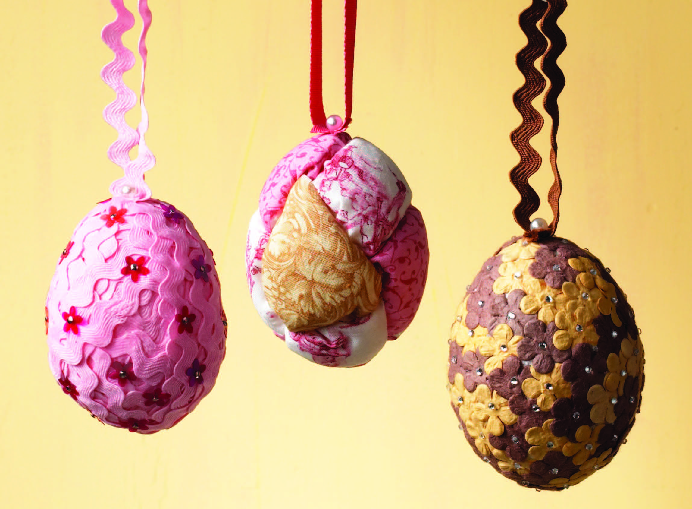 Sewing Trim Easter Eggs
