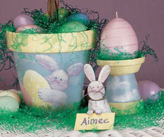 Sweet Easter Decor Trio