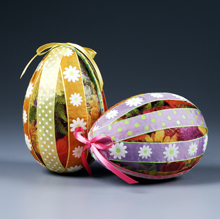 Bright Ribbon Eggs