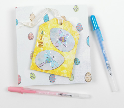 Egg Card with Pens