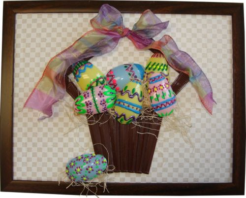 Plastic Spoon Easter Basket