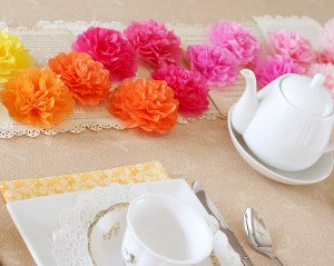 Mother's Day Tea Party Flowers
