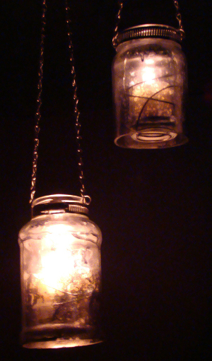 Spaghetti Jar Luminaries