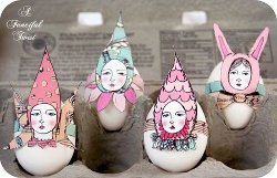 Easter Elfin Printable