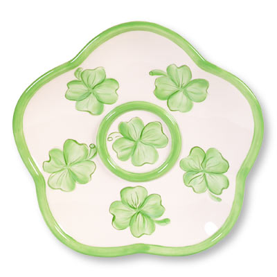 Irish Shamrock Plate