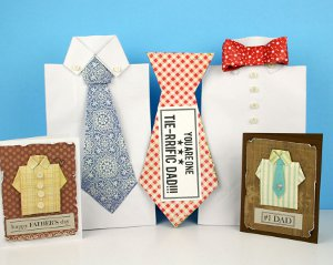 tie riffic father's day cards