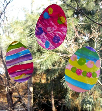 window clings eggsfinal A Completely DIY Easter Party