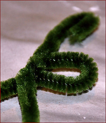 Second chenille stem