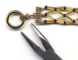 Bugle Bead Bracelet