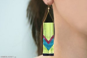 DIY Bobby Pin Earrings