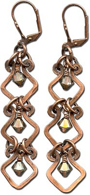 charming dangle earrings