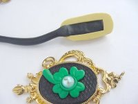 Lucky Irish Clay Pendant Step 10