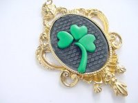 Lucky Irish Clay Pendant Step 7