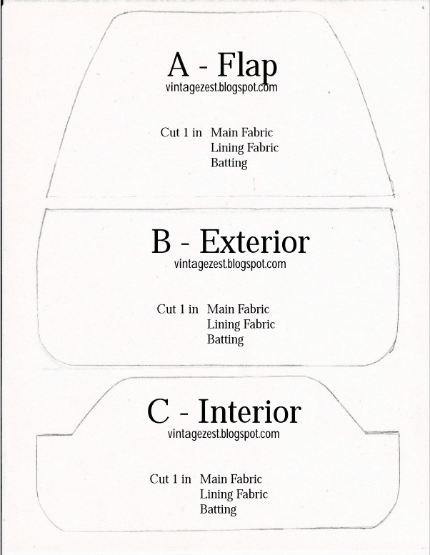 Free Pattern For Glasses Case