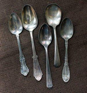 Vintage Spoon Pendant