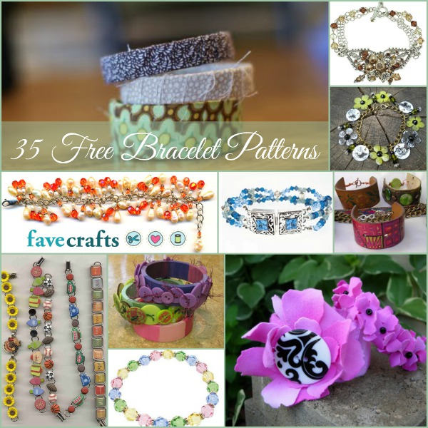 35 Free Beaded Bracelet Patterns