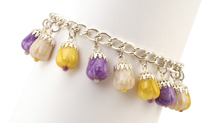 Crocus Charms Bracelet