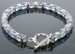 Fancy Crystals Bracelet Jewelry Project