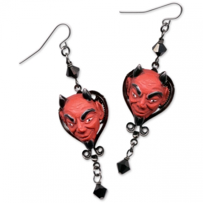Halloween Devil Earrings