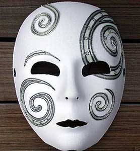 Fun and Easy Full Face Purim Mask