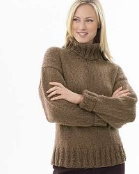 Chunky Knit Turtleneck