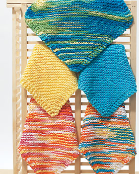 Free Knitting Patterns: Dishclothes & Potholders
