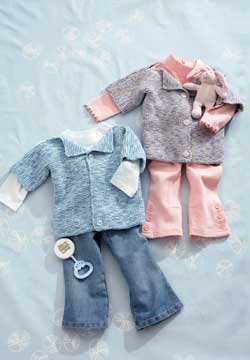 Easy Knit Baby Cardigans