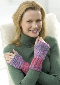 Easy Wrist Warmers Knitting Pattern | FaveCrafts.