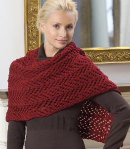 Easy Knitting Patterns For Beginners Free : EASY KNIT SHAWL PATTERNS   Free Patterns