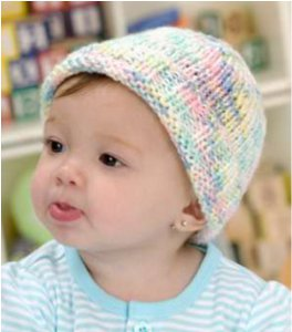 Easy to Knit Baby Hat