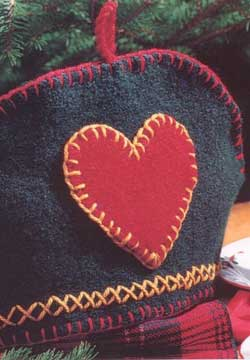 Felted Knit Tea Cozy