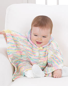 Knitting Pattern Baby Poncho With Hood : Knitting Pattern Central: 614 Cool Knitting Patterns ...