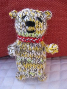 Easy Knit Bear