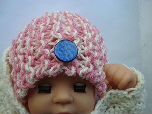 Knit Newborn hat 1