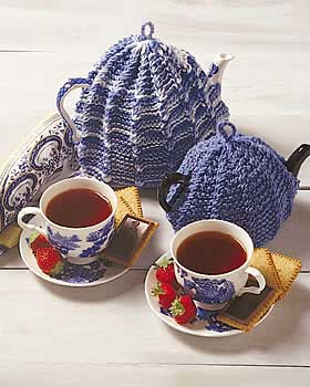 Knit Ridge Teapot Cozy