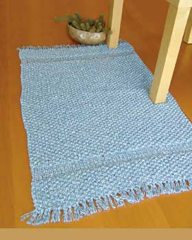 Knit Rug Pattern Free : KNITTING PATTERNS FOR RUGS   Free Patterns