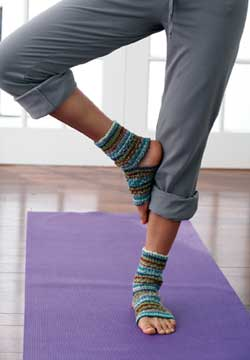 Knit Yoga Socks