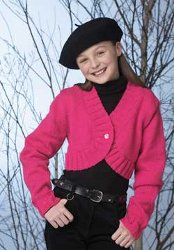 Knit Bolero for Kids