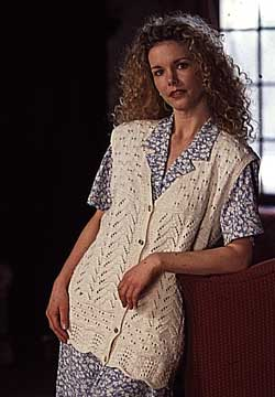 LACE TUNIC Vogue Knitting Spring/Summer 2009 #7