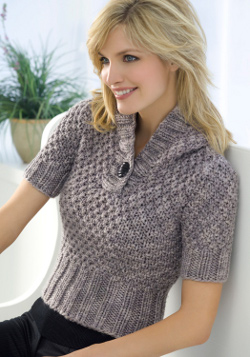 Knitting Sweater Patterns For Women : Knitting Pattern Central: 614 Cool Knitting Patterns FaveCrafts.com