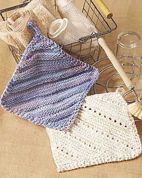 Over 100 Free Knitted Dishcloths Knitting Patterns at AllCrafts