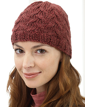Cable Hat Pattern - Knitting Patterns and Crochet Patterns from