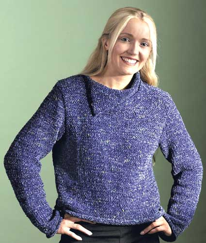 Easy Knitting Pattern For Sweater : 25 Free Knitted Sweater Patterns for Women FaveCrafts.com